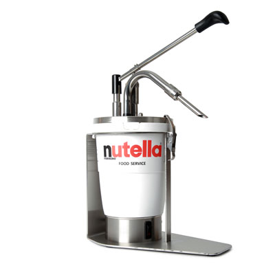 Dispensador de nutella caliente